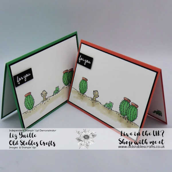 The Gangs All Meer Cute Cactus Card