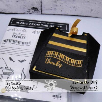 All Dressed Up Music From My Heart Gift Bag
