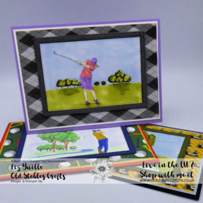 Country Club Cut Apart Sheet Cards
