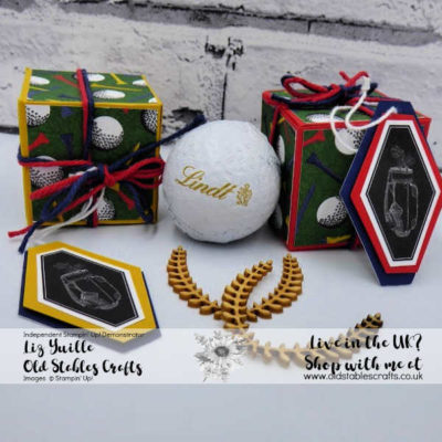 Country Club Golf Ball Box
