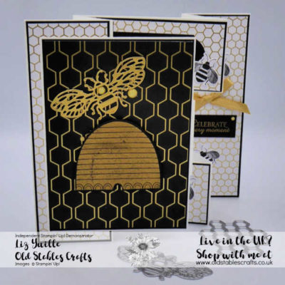 Honey Bee Promotion Concertina Card