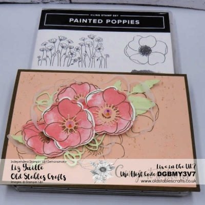 Peaceful Poppies Soft Grunge Card