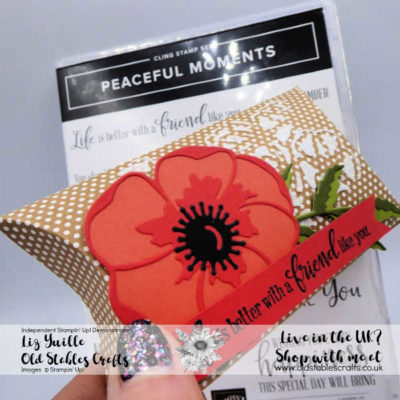 Peaceful Moments Shimmery Pillow Box