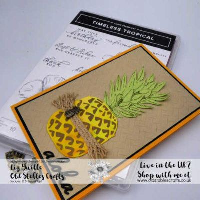 Pineapple in The Tropics