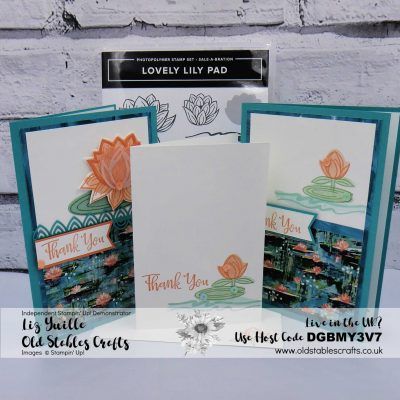 SAB #SimpleStamping Saturday – Lovely Lily Pad