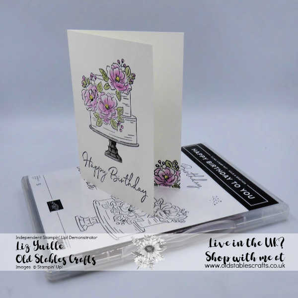 SAB #SimpleStamping Saturday Happy Birthday to You, oldstablescrafts.co.uk