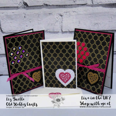 SAB #SimpleStamping Saturday Heartfelt Golden Honey