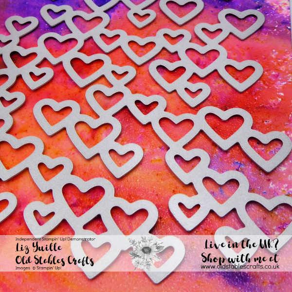 Top Tip Tuesday - Pigment Sprinkles meet Heat Embossing
