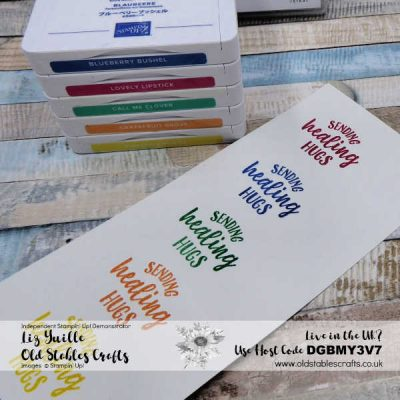 Top Tip Tuesday – Any Colour Heat Embossing