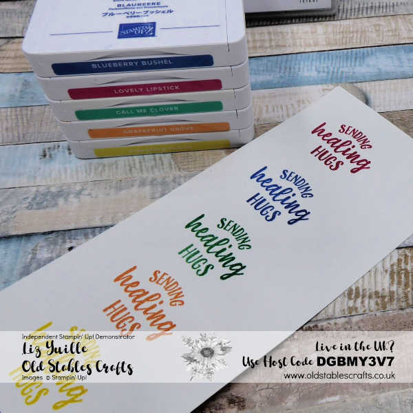 Top Tip Tuesday - Any Colour Heat Embossing