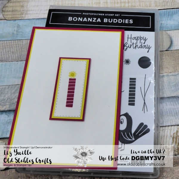Bonanza Buddies Candle Card cu1