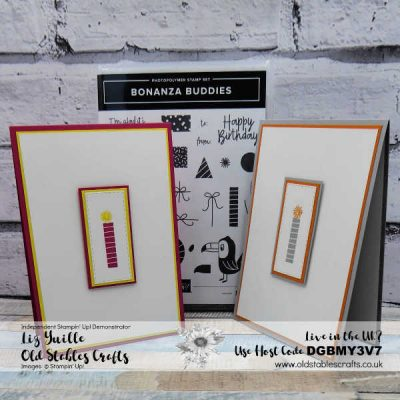 Bonanza Buddies Candle Card