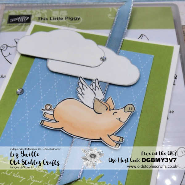This Little Piggy Slider Card for Inspire Create Challenge 63