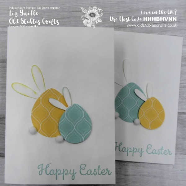 Happy Easter Punch Art oldstablescrafts.co.uk
