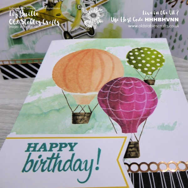 Looking Up Card Kit - Balloons