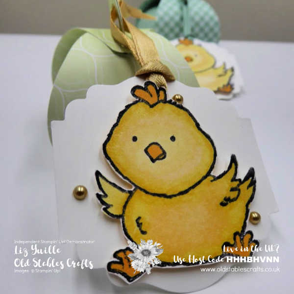 Mini Curvy Keepsake to Welcome Easter