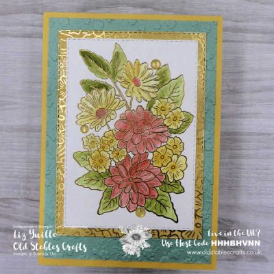 Ornate Style Golden Birthday Card