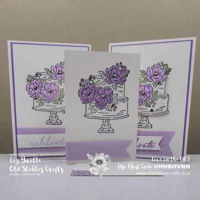 #SimpleStamping Saturday Happy Birthday to You meets So Very Vellum