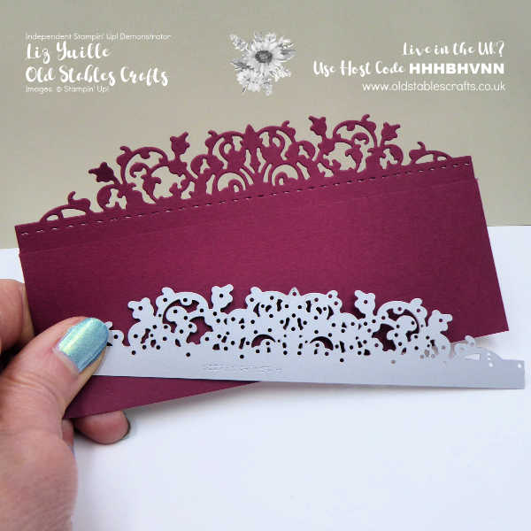 Delicate Lace Die Cutting