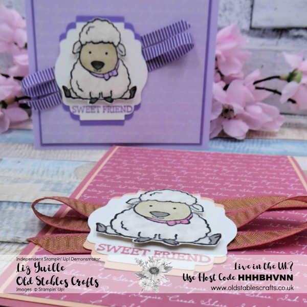 Welcome Easter Lamb Card