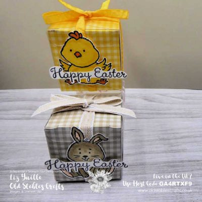 Welcome Easter Gift Box for Inspire Create Challenge