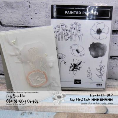 White on White – Peaceful Poppies