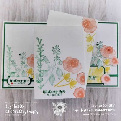 #SimpleStamping Saturday – First Frost Last Look