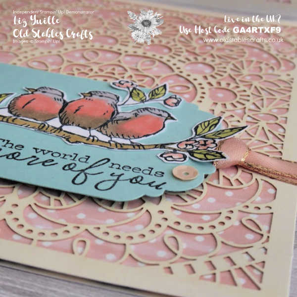 #SimpleStamping Saturday Free as a Bird OldStablesCrafts.co.uk