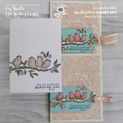 #SimpleStamping Saturday – Free as a Bird