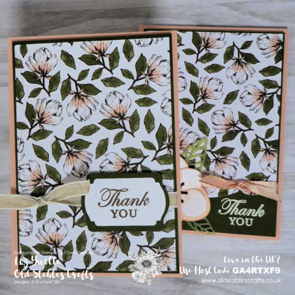 SimpleStamping Saturday Magnolia Blooms oldstablescrafts.co.uk