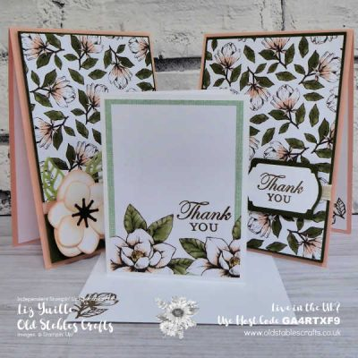 #SimpleStamping Saturday Magnolia Blooms