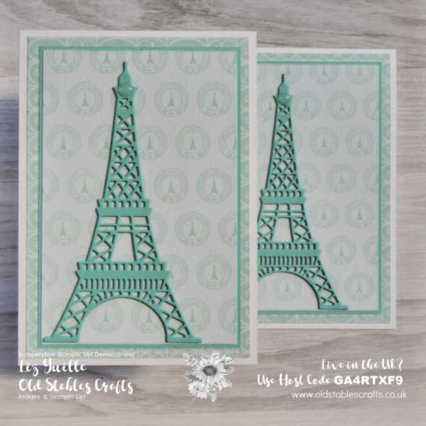 The Eiffel Tower - Parisian Blossom oldstablescrafts.co.uk