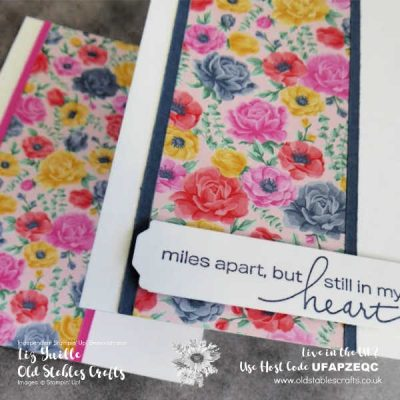 Flowers For Every Season Miles Apart Cards