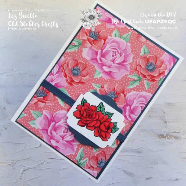 Four Season Floral #SSS OldStablesCrafts.co.uk