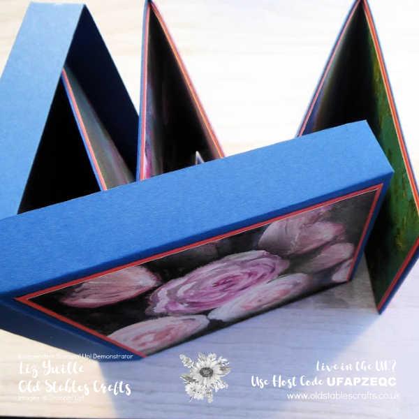 Mini Album in a Pizza Box OldStablesCrafts.co.uk
