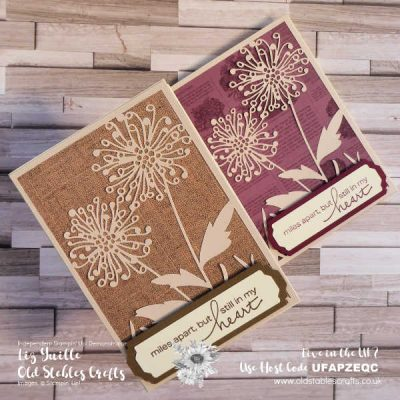 Quick and Easy Shimmer Detailed Laser Cut Paper Cards – AT A DISCOUNT!