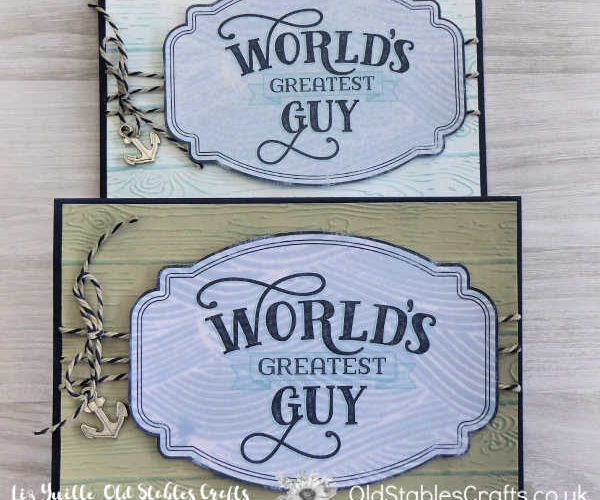 Come Sail Away Memories & More Card for The Sopt