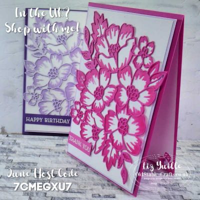 Blossoms in Bloom Coloured Vellum Die Cuts
