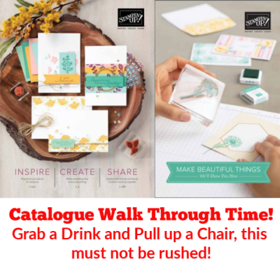 Who Wants a Catalogue Walk Through? Here We Go!