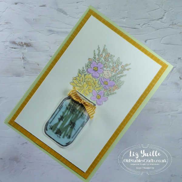 Flowers for Every Season Jar of Flowers OldStablesCrafts.co.uk