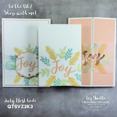 #SimpleStamping Saturday – Peace & Joy – Not Just for Christmas