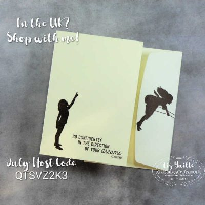 #SimpleStamping Saturday with Silhouette Scenes