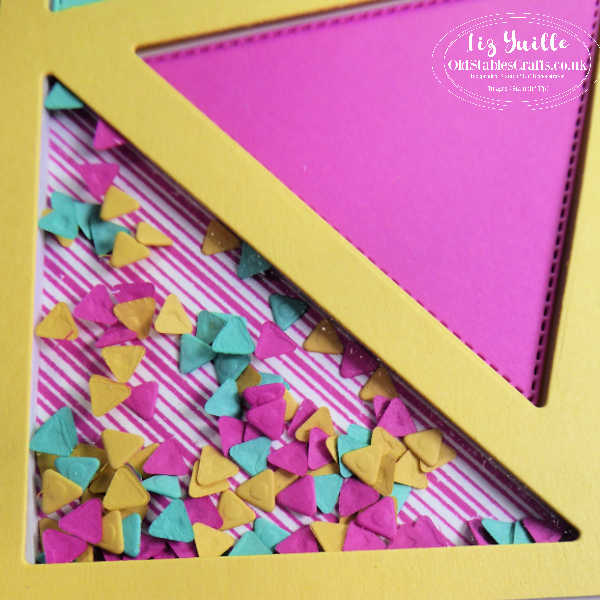 The Right Triangle Bundle Bright Shaker Card OldStablesCrafts.co.uk