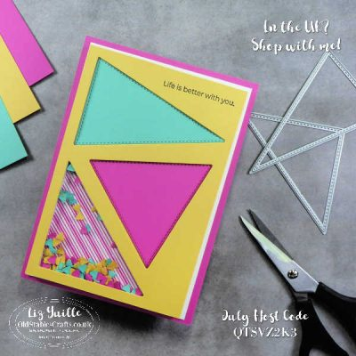 The Right Triangle Bundle Bright Shaker Card