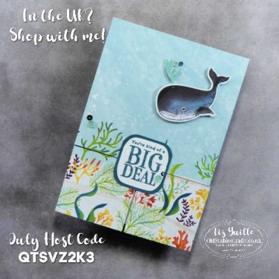 Coffee & Card Facebook Live 14th July 2020 – Replay – Whale Done and Playing with Patterns