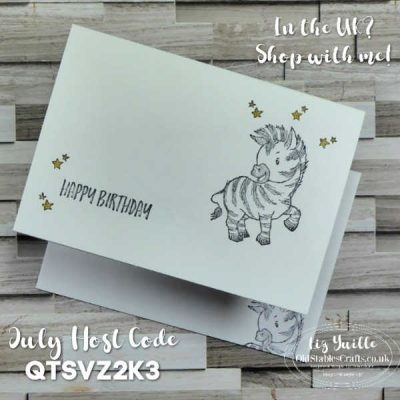 #SimpleStamping Saturday with Zany Zebras