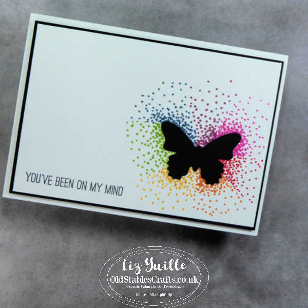 Butterfly Gala Dot Colouring OldStablesCrafts.co.uk