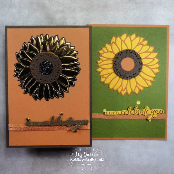 Celebrate Sunflowers Inlay Technique OldStablesCrafts.co.uk