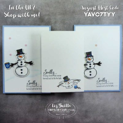 #SimpleStamping Saturday – Don't Stop Believin' – In Honour of Olaf