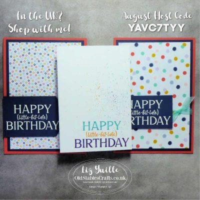 #SimpleStamping Saturday – Happiest of Birthdays